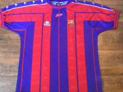 Classic Football Shirts | 1997 Barcelona Vintage Old Jerseys